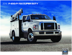 Ford F-650/F-750 Super Duty 2016. Brochure.