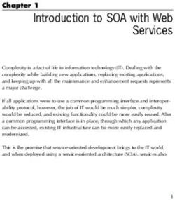 Introduction to SOA with Web Services