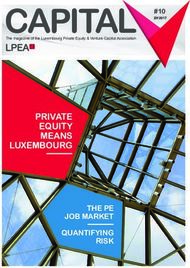 CAPITAL #10 - PRIVATE EQUITY MEANS LUXEMBOURG