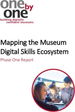 Mapping the Museum Digital Skills Ecosystem