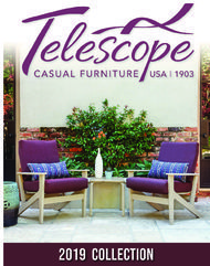 CASUAL FURNITURE 2019 COLLECTION - Telescope
