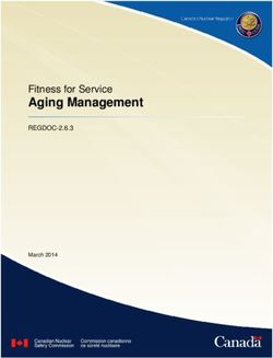 Aging Management - Fitness for Service