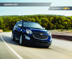 Chevrolet Equinox 2017 Catalog