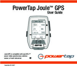 PowerTap Joule GPS - User Guide
