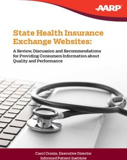 State Health Insurance Exchange Websites