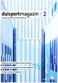 Duisportmagazin 2 - Handling volume exceeds 4 million containers duisport ...