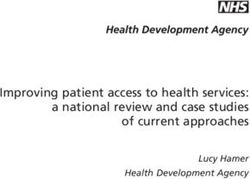 Improving patient access to health services: a national review and case studies of current approaches