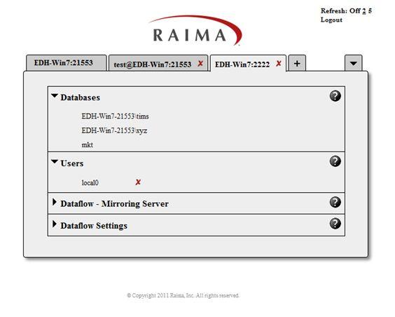 Raima Database Manager 11 0 - TFS Configuration and