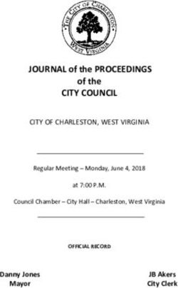 CITY COUNCIL - JOURNAL of the PROCEEDINGS