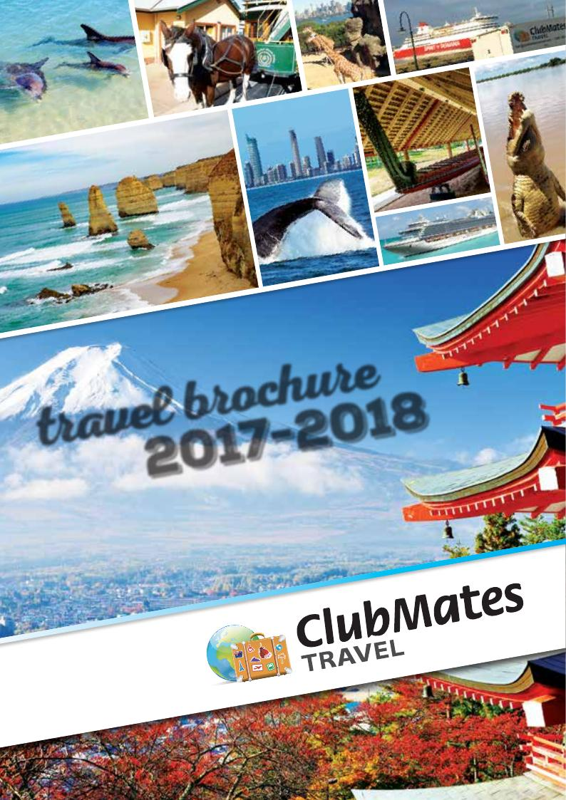Clubmates Travel 2017 2018 Brochure Australian Easter Bilby Coloring In Page Craft On House Wiring Colours