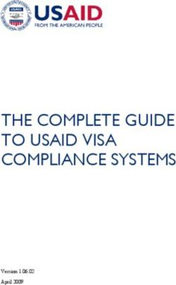 THE COMPLETE GUIDE TO USAID VISA COMPLIANCE SYSTEMS