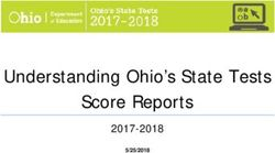 Understanding Ohio's State Tests Score Reports