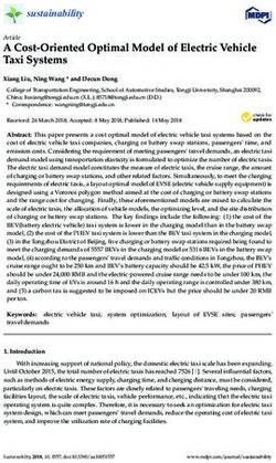 A Cost-Oriented Optimal Model of Electric Vehicle Taxi Systems