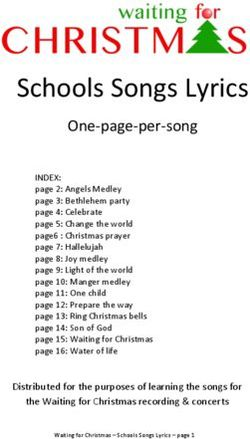 Schools Songs Lyrics - One-page-per-song