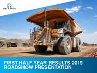 FIRST HALF YEAR RESULTS 2019 ROADSHOW PRESENTATION
