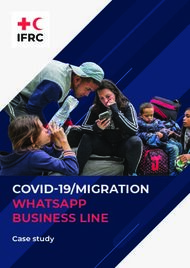 COVID-19/MIGRATION WHATSAPP BUSINESS LINE - Case study - Community ...