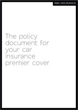 The policy document for your car insurance premier cover