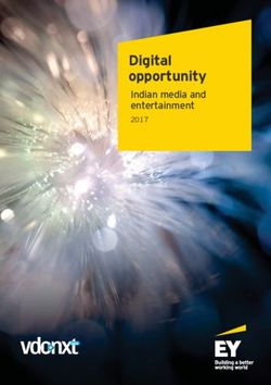 Digital opportunity - Indian media and entertainment 2017