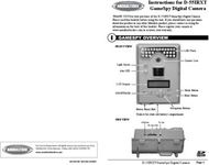 Instructions for D-55IRXT GameSpy Digital Camera
