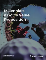 Millennials & Golf's Value Proposition - 2020 LIFESTYLE RESEARCH - ...