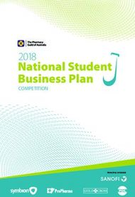 National Student Business Plan 2018