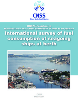 International survey of fuel consumption of seagoing ships at berth