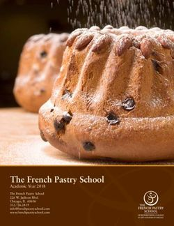 The French Pastry School - Academic Year 2018