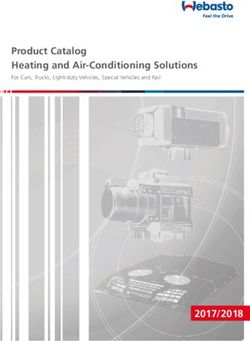 Webasto - Product Catalog Heating and Air-Conditioning Solutions