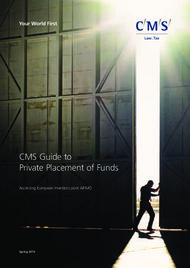 CMS Guide to Private Placement of Funds