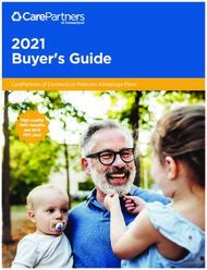 2021 Buyer's Guide CarePartners of Connecticut Medicare Advantage Plans ...