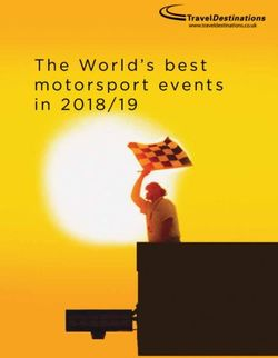 The World's best motorsport events in 2018/19