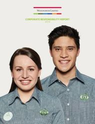 Corporate responsibility report 2014 - Woolworths Group
