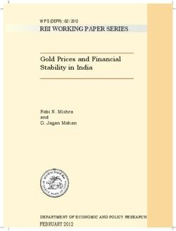 Gold Prices and Financial Stability in India