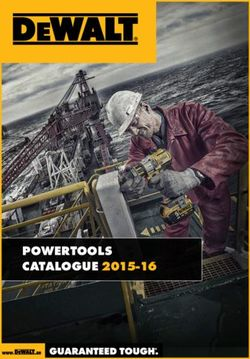 DeWALT Powertools Catalogue 2015-16