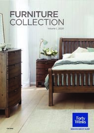 FURNITURE COLLECTION Volume 1, 2020 - Forty Winks