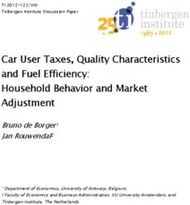 Car User Taxes, Quality Characteristics and Fuel Efficiency: Household Behavior and Market Adjustment