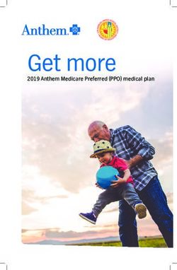 2019 Anthem Medicare Preferred (PPO) medical plan - lausd