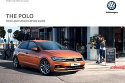 THE POLO PRICE AND SPECIFICATION GUIDE
