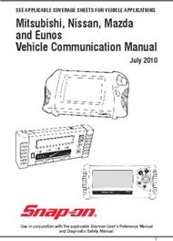 Mitsubishi, Nissan, Mazda and Eunos Vehicle Communication Manual