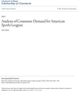 Analysis of Consumer Demand for American Sports Leagues