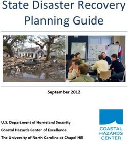 State Disaster Recovery Planning Guide September 2012