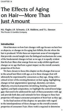 The Effects of Aging on Hair-More Than Just Amount