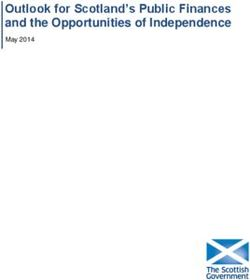 Outlook for Scotland's Public Finances and the Opportunities of Independence