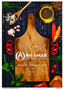 RH Amar - Product Catalogue 2017