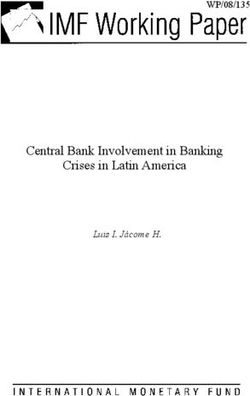 Central Bank Involvement in Banking Crises in Latin America