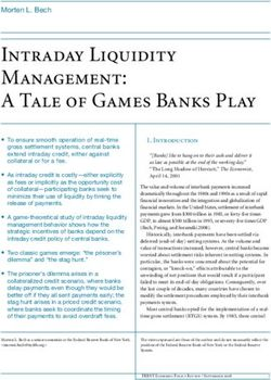Intraday Liquidity Management: A Tale of Games Banks Play