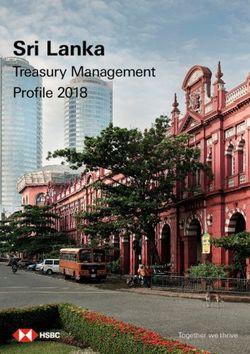 Sri Lanka - Treasury Management Profile 2018