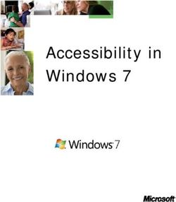 Accessibility in Windows 7