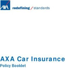 AXA Car Insurance - Policy Booklet