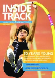 50 YEARS YOUNG Special feature: European Athletics celebrates fi ve decades ...
